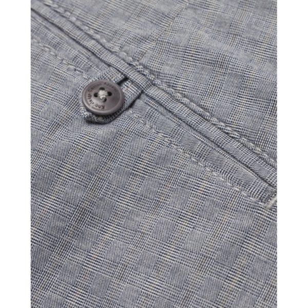 CHUCK regular checked chino knowledge cotton apparel