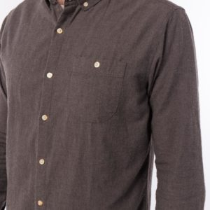 chemise flannel knowledge cotton apparel
