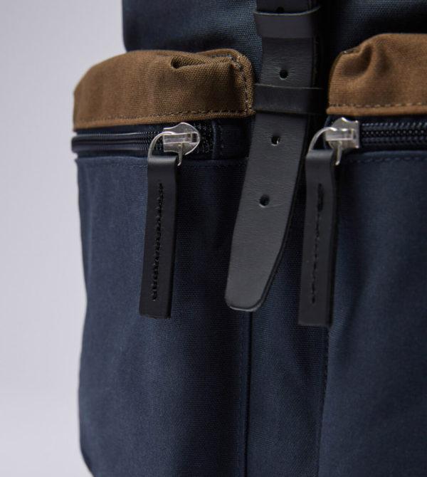 sandqvist roald backpack multi navy olive