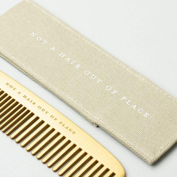 brass comb not a hair