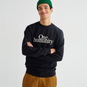 thinking mu one humanity sweatshirt