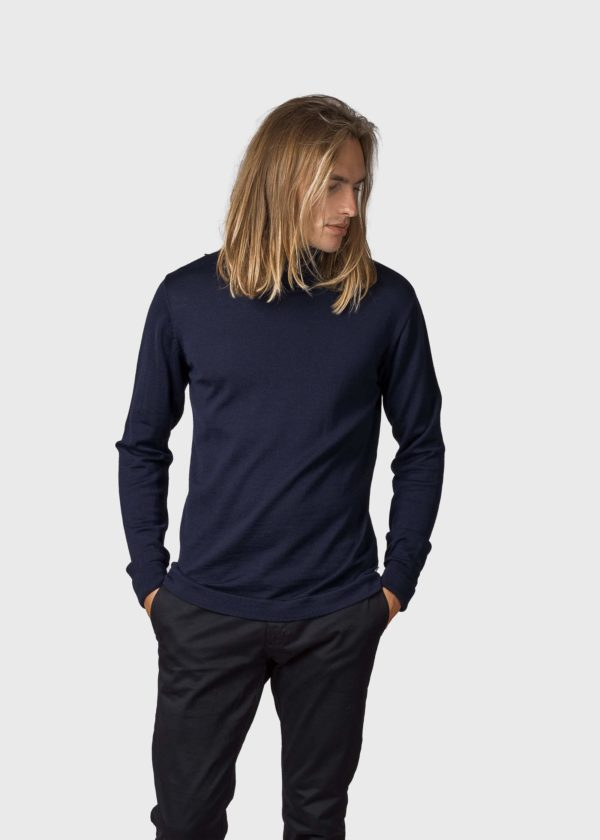 Anders knit Knitted sweaters KC Navy x
