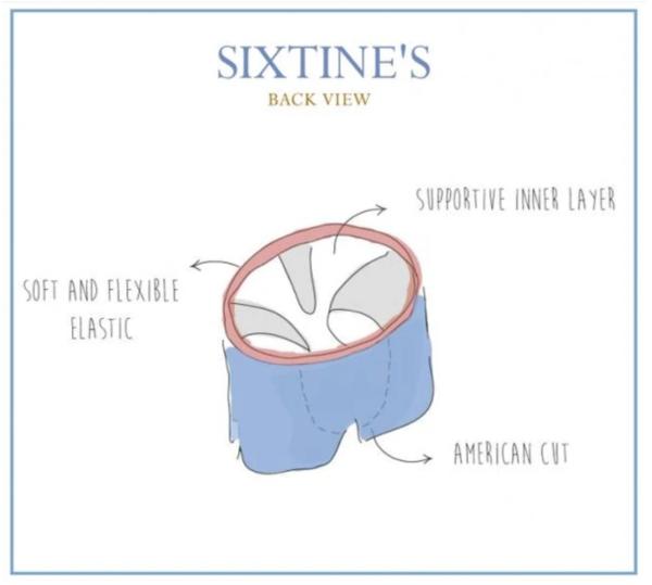 caleçon sixtine's