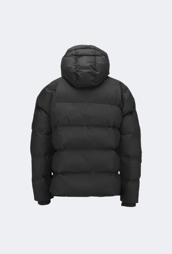 Puffer jacket rains