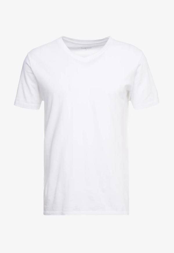 tee alder v-neck knowledge cotton apparel