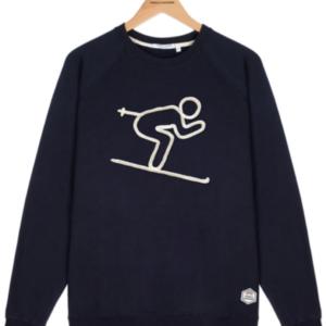 Sweatshirt skieur French disorder