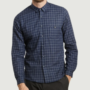 chemise Jagvi carreaux navy