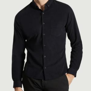 chemise Jagvi velour navy