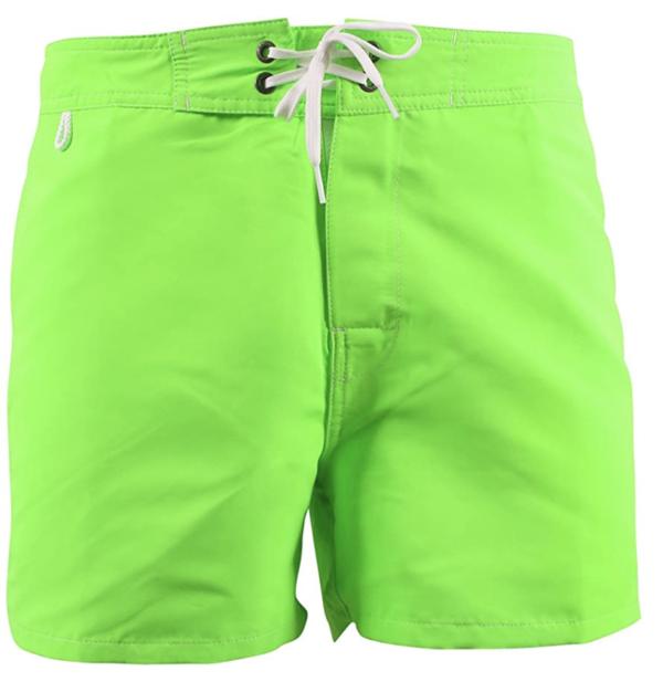 Low rise Fluo green 6 sundek