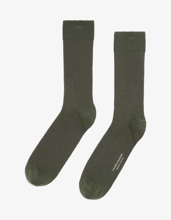 Colorful Standard Classic Organic Socks in Dusty Olive