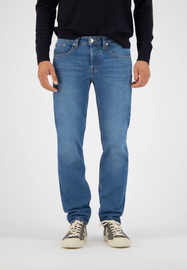 Men Sustainable Jeans Regular Dunn Stone Blue Halffront