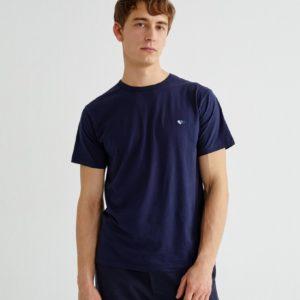 Thinking Mu T shirt Blue Hearts