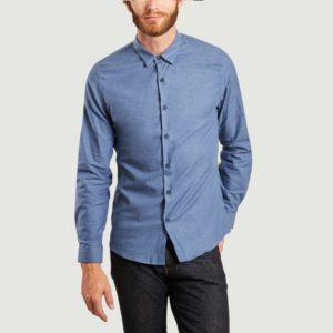 chemise bleu scaled