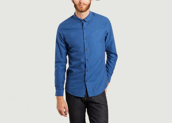 chemise denim scaled