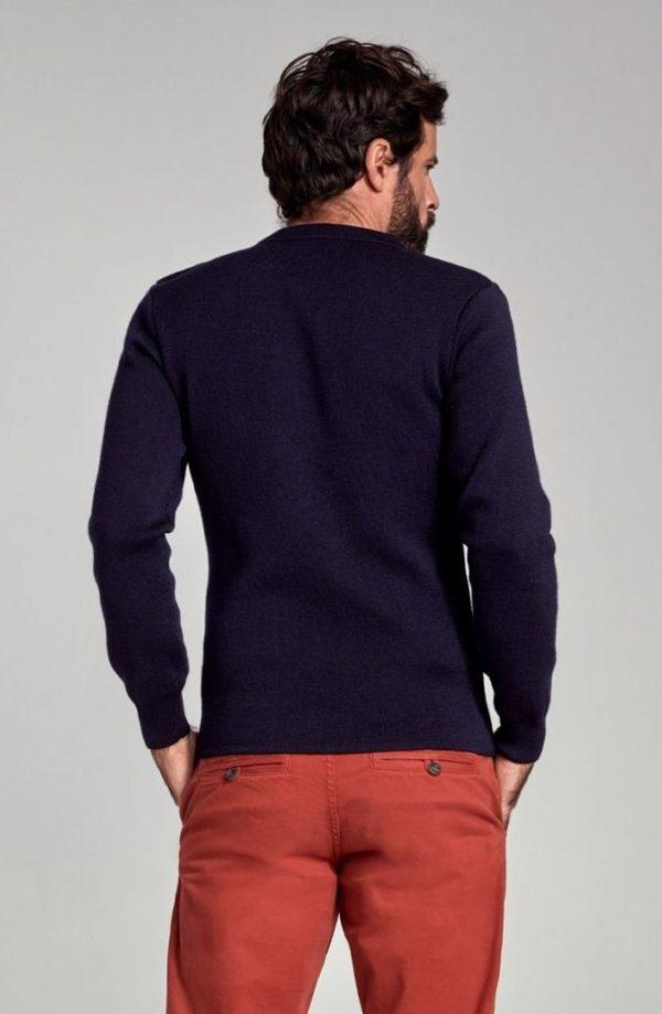 pull marin uni fouesnant laine