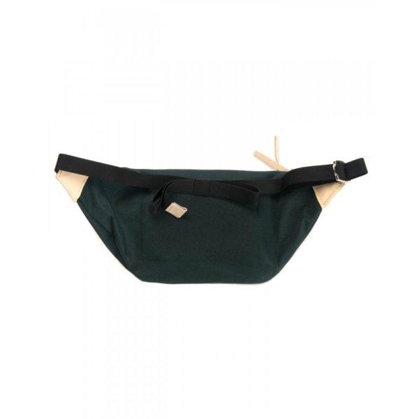 sandvist aste dark green with natural leather p image