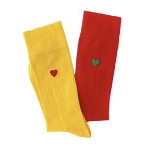 Heart sock Brosbi