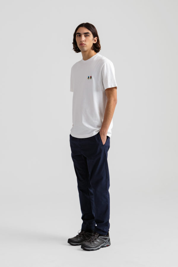 Duck head special tee plain white murano pants plain navy