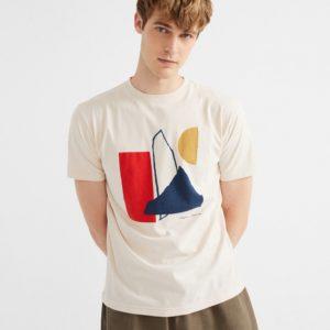 camiseta abstract bones