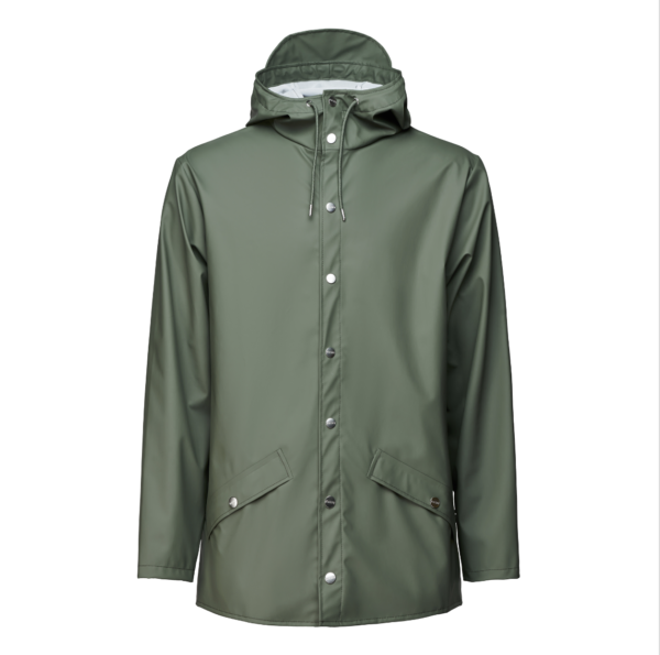 Rains jacket olive