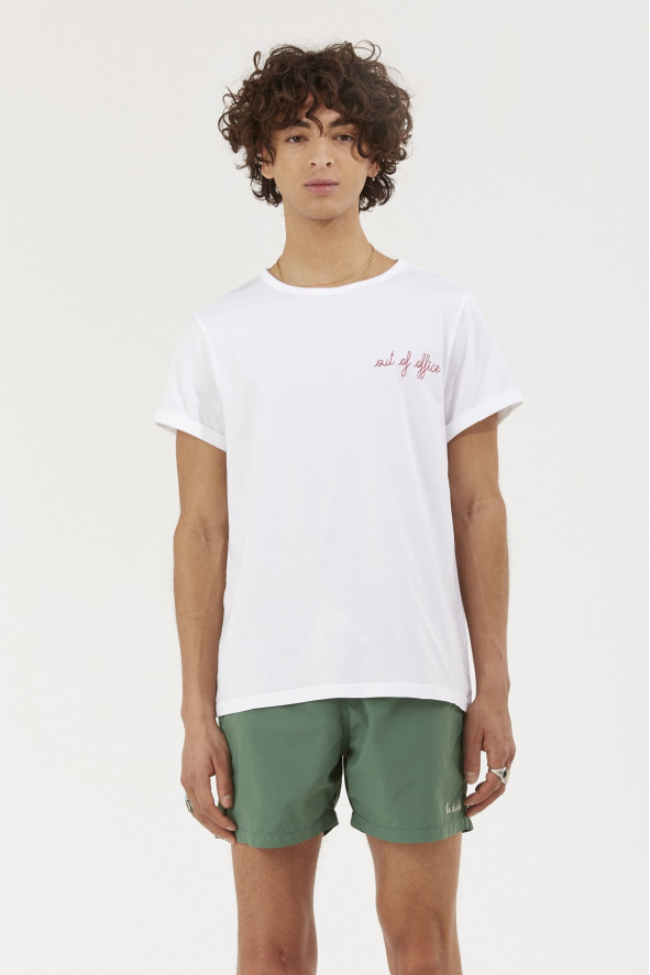 out of office classic tee shir