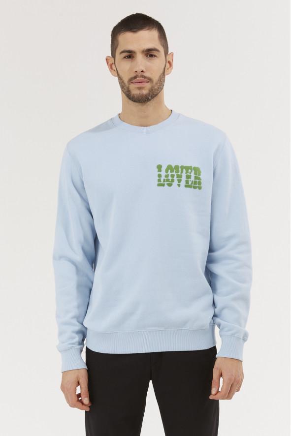sweatshirt lover flocage