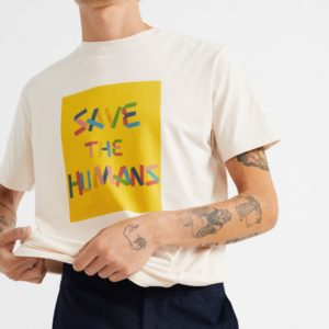 camiseta save the humans
