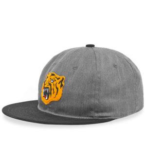 Ebbets Field Flannels Osaka Tigers Cotton Cap Grey OSKC