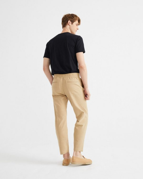 pantalon travel camel