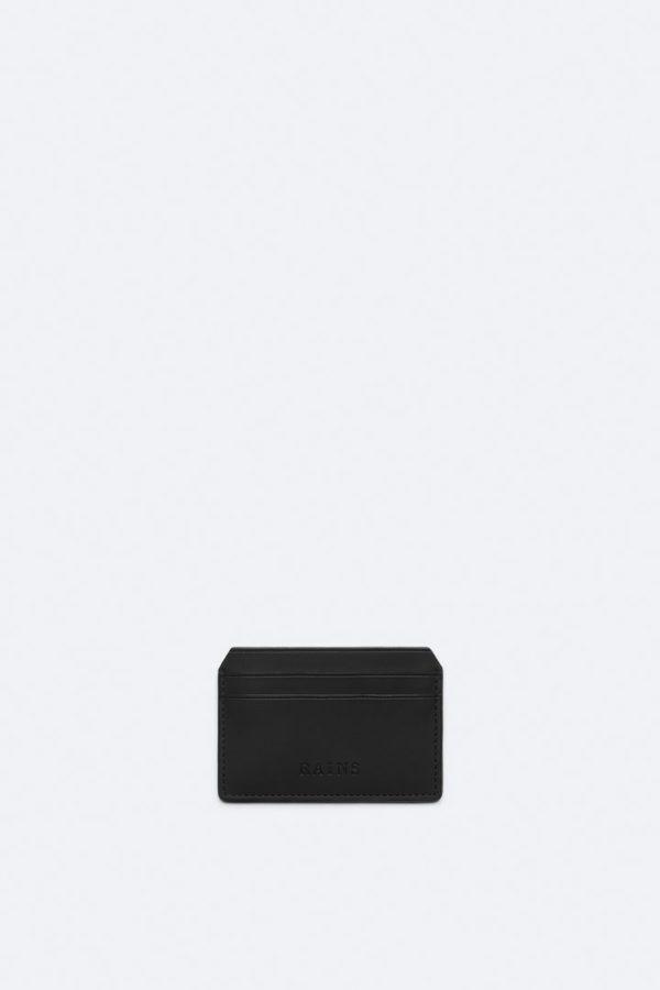 Card Holder Small Accessories Black x crop center