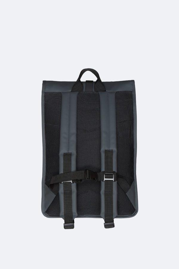 Rolltop Rucksack Backpacks Slate x crop center