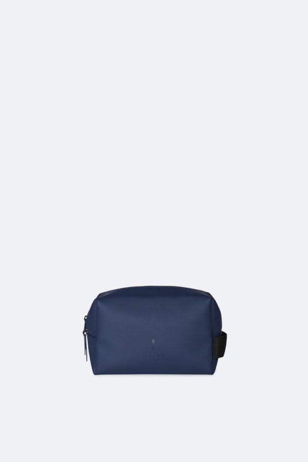 Wash Bag Small Travel Accessories Blue x crop center